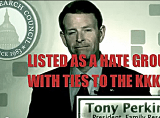 Loving Christian and FRC Hate Group Leader Tony Perkins Lauds Trump's Budget Plan To Stop Feeding The Elderly