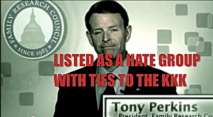 "FRC Hate Group Leader Tony Perkins Says Its ""Fake News"" That A Religious Liberty EO Would Discriminates Against Gays"