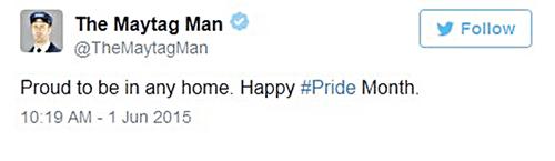 Maytag man Pride
