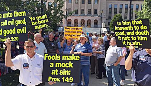 KY Idiots rally