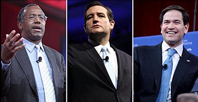 GOP Anti-LGBT Carson, Rubio, Cruz