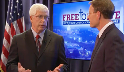 Tony Perkins Free to Believe