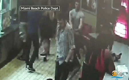 Gay Couple Attacked At South Beach Miami Burger King Over Kiss - Video