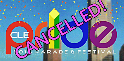 Cleveland Pride Cancelled