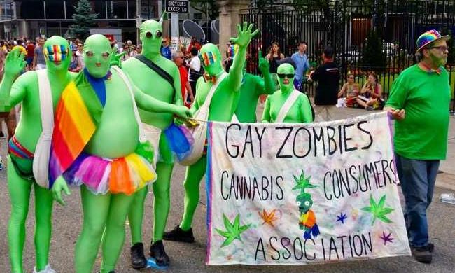 Gay Zombies Toronto pride