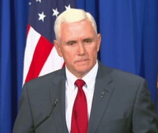 Mike Pence Compares Donald Trump to Martin Luther King Jr.