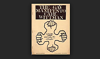 READ The Gay Manifesto by Carl Whitman 1970