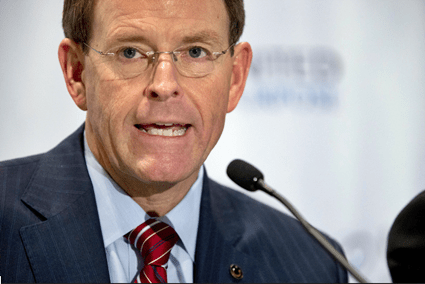 FRC's Tony Perkins Jumps For Joy Over Trump Latest Anti-Trans Move