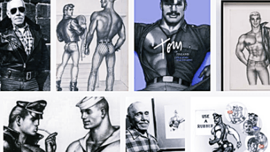Gay History - May 8, 1920 – Iconic Gay Artist Tom of Finland (Touko Laaksonen) Born