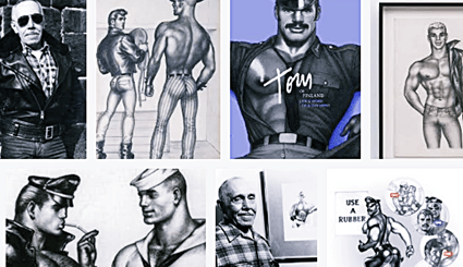 Gay History - May 8, 1920 – Iconic Gay Artist Tom of Finland (Touko Laaksonen) Born