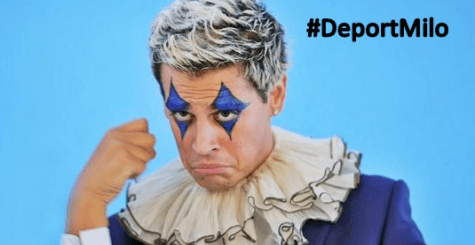 "PedoCON Milo Yiannopoulos ""Resigns"" From Breitbart Before They Fire Him - #DeportMilo"