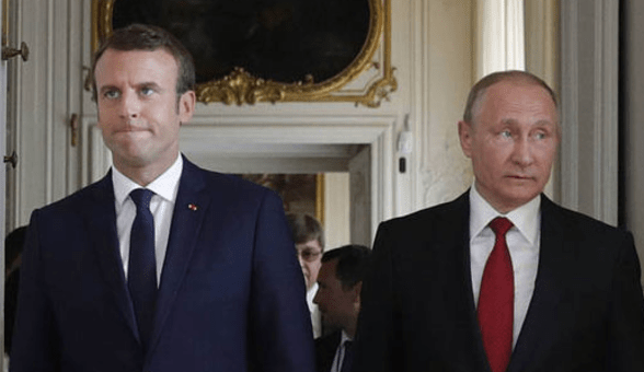 Newly Elected French President Emmanuel Macron Calls on Putin to Protect Gay Chechens