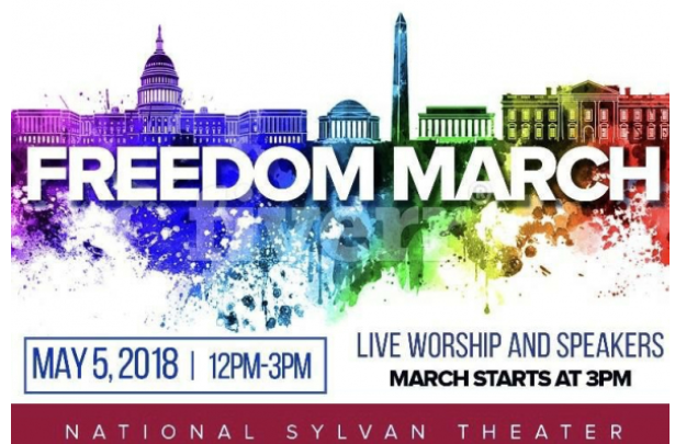 "MASSIVE FAIL: 10's of People Attend Right Wing's Ex-Gay ""Freedom March"" - [Video]"