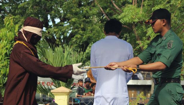 2 Gay Men Publicly Flogged In Aceh, Indonesia, Receive 87 Lashes Each
