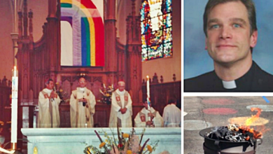 Cardinal Removes Chicago Priest Who Exorcised and Burned Rainbow Flag