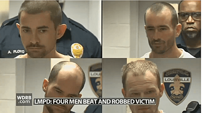 4 Men Arrested After Beating and Robbing Gay Man in Louisville, KY