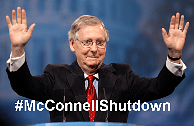 Mitch McConnell Once Again Blocks Bill To Reopen Government