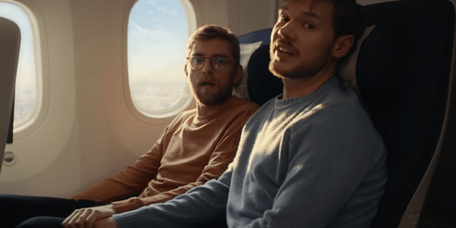 Airplane video gay