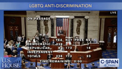 US House Passes LGBT Equality Act, 8 Republicans Break Rank to Vote w/Democrats