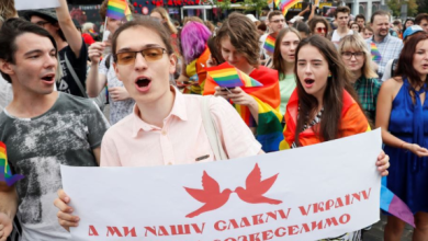 Over 8000 March in Kiev, Ukraine Pride Parade