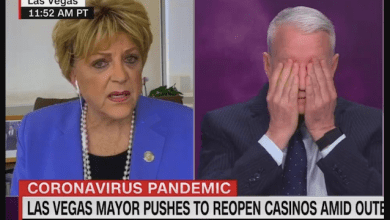 "Nutjob Las Vegas Mayor Stuns Anderson Cooper With ""Open Las Vegas"" (Il)Logic"