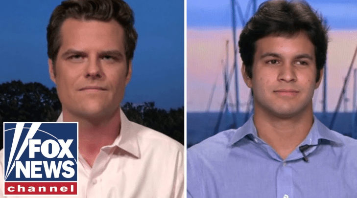 "Matt Gaetz: ""I'm not gay!"" BTW Nestor Is Not Really My Adopted Son But I'm His Daddy"
