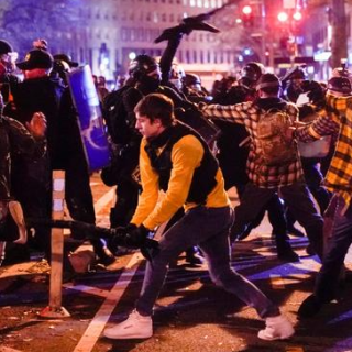 Proud Boys Rampage Through The Streets of Washington DC After Trump Rally - VIDEOS