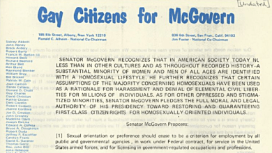 Gay History - July 1: The Buggery Act, The Hays Code Becomes Mandatory, George McGovern, and Blueboy Hit's The Stands