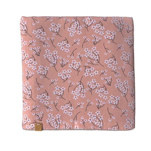 lilly deken roze taupe