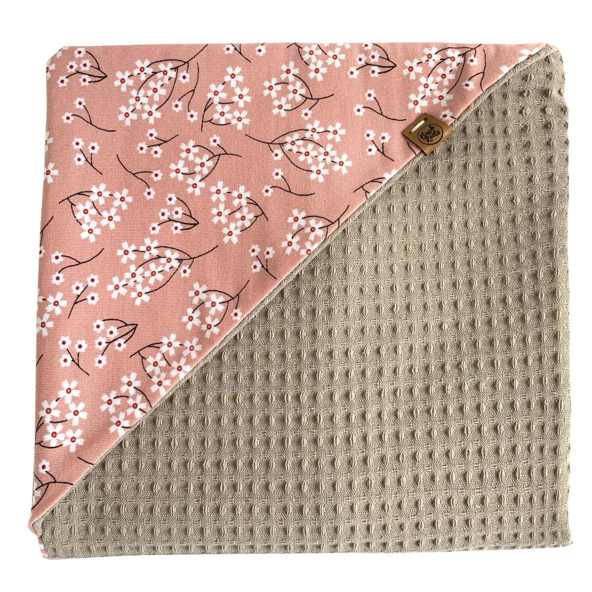 lily wikkeldoek roze taupe