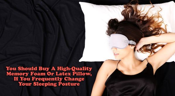 Pillow for Frequently Change Sleeping Posture