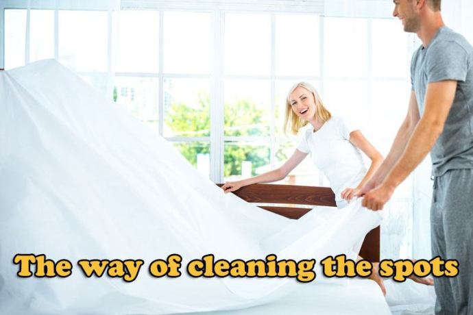 cleaning Mattress spots