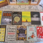 Portraits, ecology, reluctant dinner guests, Game of Thrones, 1927, CanLit, special pets and stickers