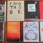 Award winners, incomplete books, homesteading, martians & fantasy wilderness