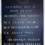 Authors for Indies…coming soon!