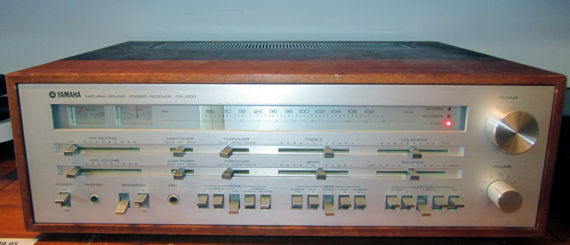 Sold Yamaha Cr 1000 Stereo Receiver Backbeat Books And