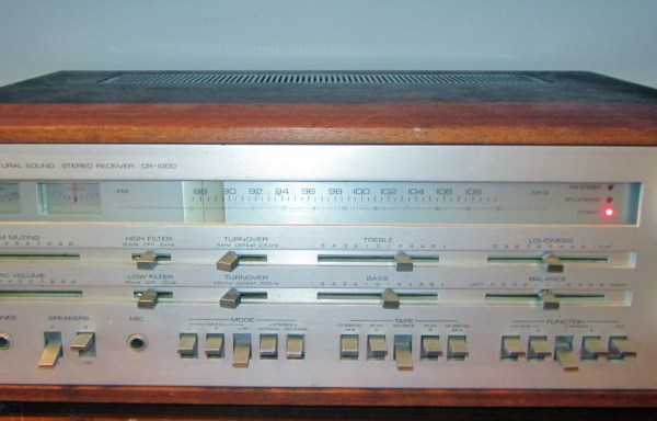 -SOLD- Yamaha CR-1000 Stereo Receiver