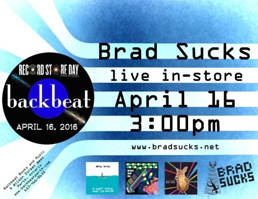 Brad Sucks Live