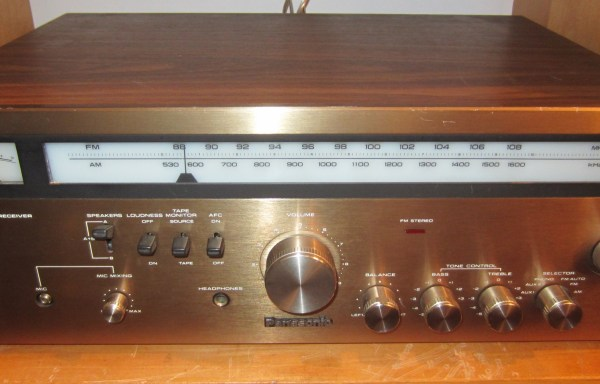 -SOLD- Panasonic RA-6100 Receiver