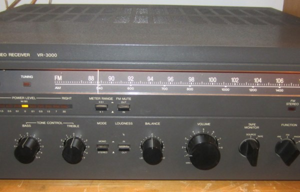 -SOLD- Vector Research VR-3000 Receiver