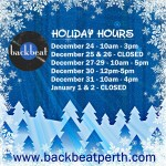 Ho Ho Holiday Hours