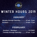 Winter Hours 2019