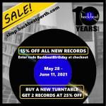 Backbeat 10th Anniversary Sale
