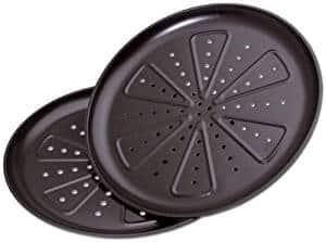 Schwarzes Pizzablech