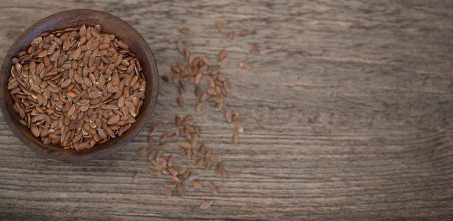 Leinsamen für die Getreidemühle