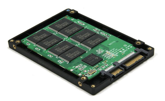 Solid State Drive, tipe harddisk generasi terbaru yang tidak menggunakan piringan