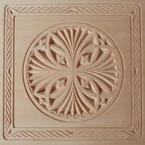 An example of chip carving
