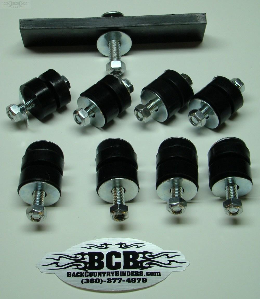 medium resolution of bcb scout 80 800 polyurethane body bushing kit