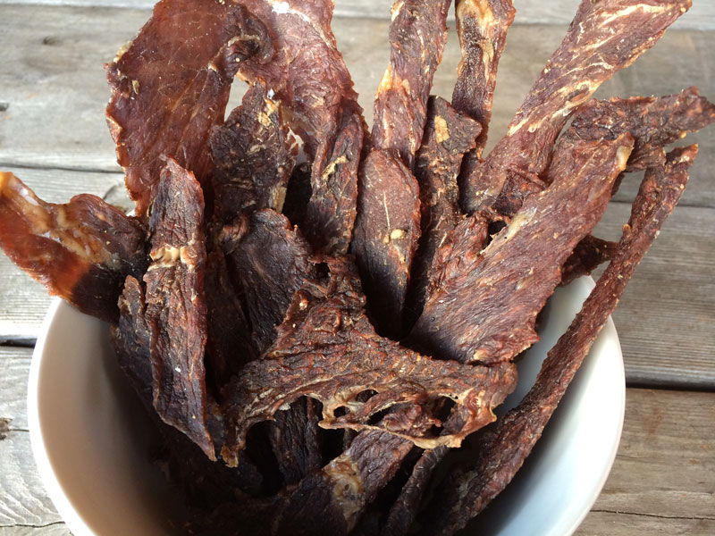 Sage Maple Beef Jerky Backcountry Paleo