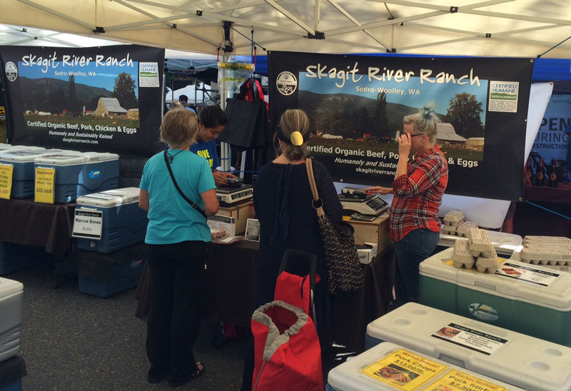 Skagit River Ranch booth
